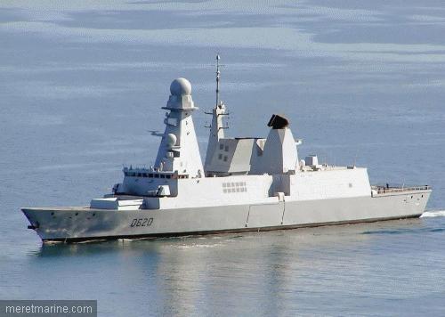 fregate de type horizon à Toulon