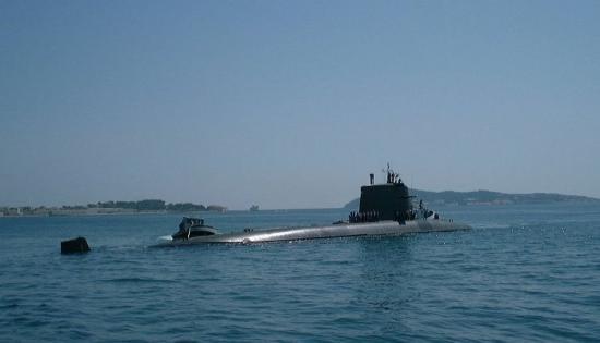 sous-marin à toulon